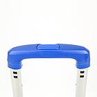 Візок BudMonster з телескопічною ручкою 42х35х98 колесо 7см (синя) 1.6 кг (ВМ-Н-445), фото 4