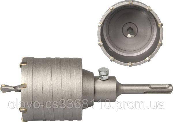 Фреза по бетону SDS-PLUS 35 мм, з 4 победитовими напайками (F-03-234)