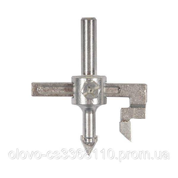 Свердло по кераміці регульоване (балеринка) 30-100 мм (2051011)
