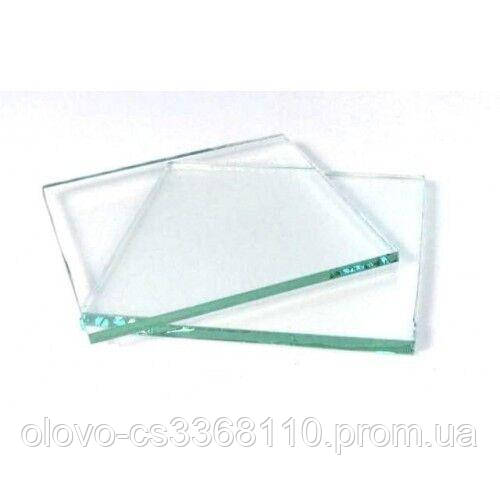 Скло для Євро маски прозоре 52х102 мм товщина 2 мм (ZS-0013)