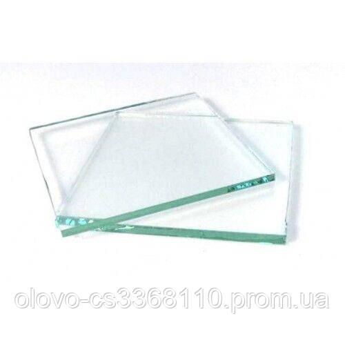 Скло для Євро маски прозоре 90х110 мм товщина 2 мм (ZS-0014)