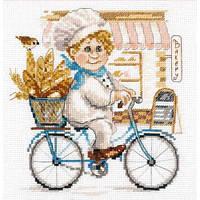 Набор для вышивки крестом Алиса 6-10 «Пекарь»