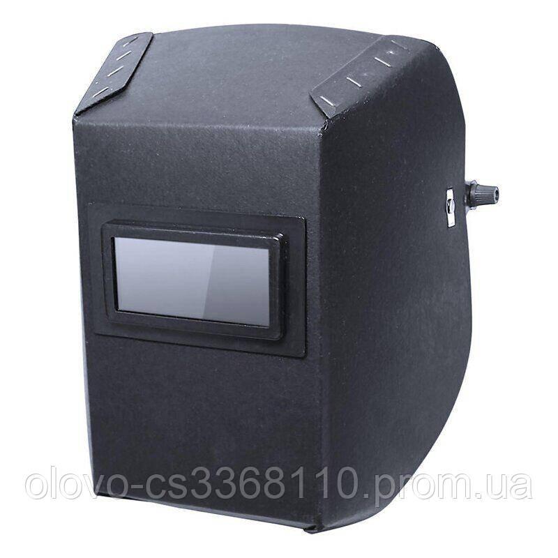 Маска зварника Vita фібра-картон 0.8 мм, чорний