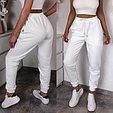 Женские спортивные трикотажные штаны на манжете, 7цветов,  Р-р.42-44,44-46,48-50 Код 448Ц, фото 2