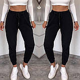 Женские спортивные трикотажные штаны на манжете, 7цветов,  Р-р.42-44,44-46,48-50 Код 448Ц, фото 8
