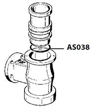 AS038 Гумовий ущільнювач посту OR 162 58,74X3,53 NBR, Astoria