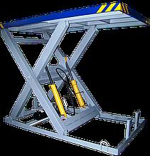 Ножничный подъемный стол 2,5х1,5м. Г/п 2т.