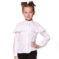 Блуза с рюшами по кокетке Lukas