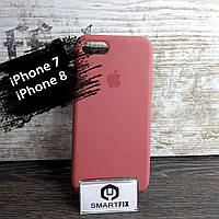 Силиконовый чехол для iPhone 7 / iPhone 8 Soft Бледно-розовый, фото 1