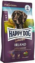 Сухой корм для собак с аллергией и проблемами кожи Happy Dog Irland Sensible с лососем и кроликом 12,5 кг