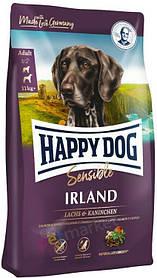 Сухий корм для собак з алергією і проблемами шкіри Happy Dog Irland Sensible з лососем і кроликом 12,5 кг