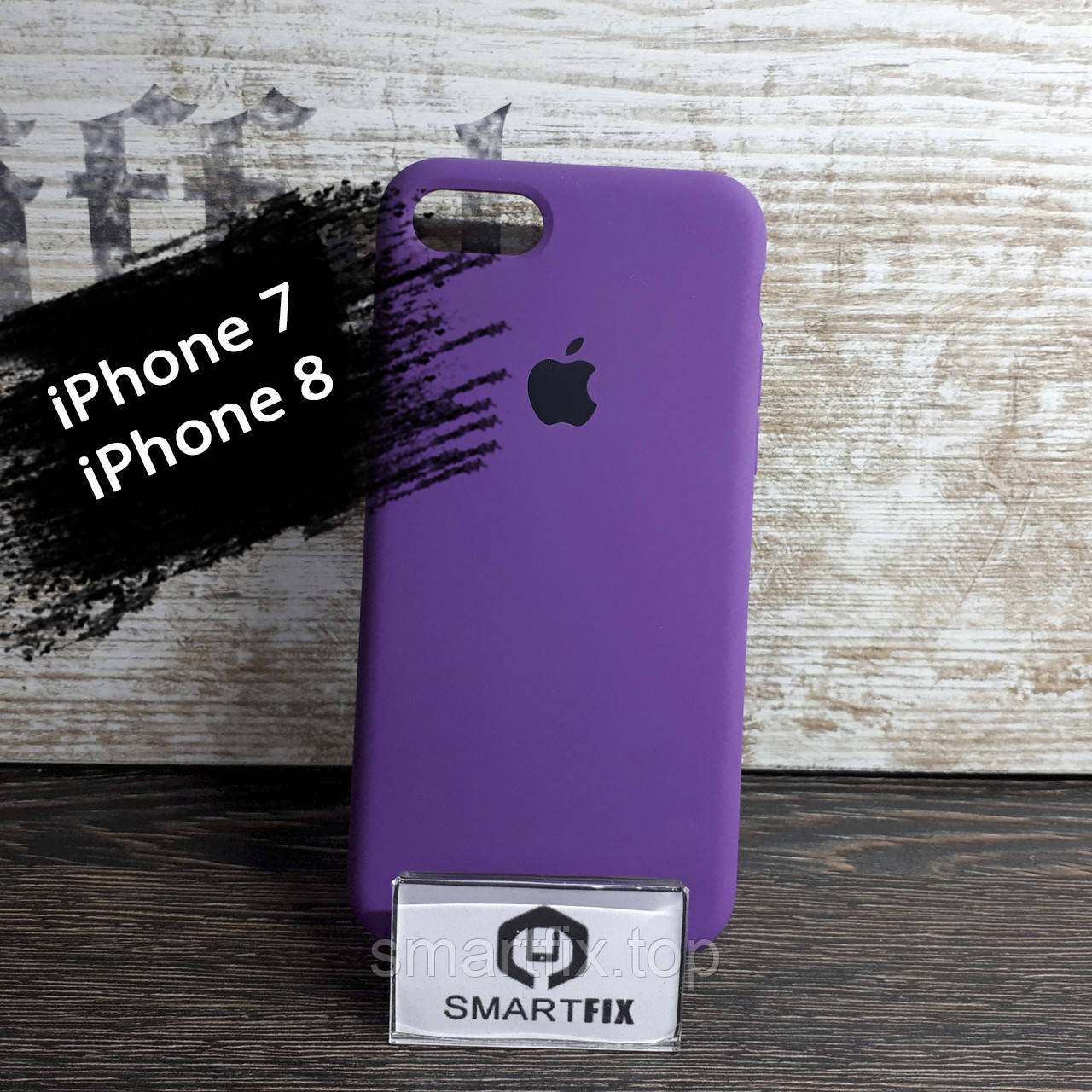Силиконовый чехол для iPhone 7 / iPhone 8 Soft Фиолетовый