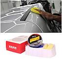 Твердый воск карнаубский Carnauba NANO protection waf MR. Fix  120 гр. ухода за краской + губка и полотенце, фото 8