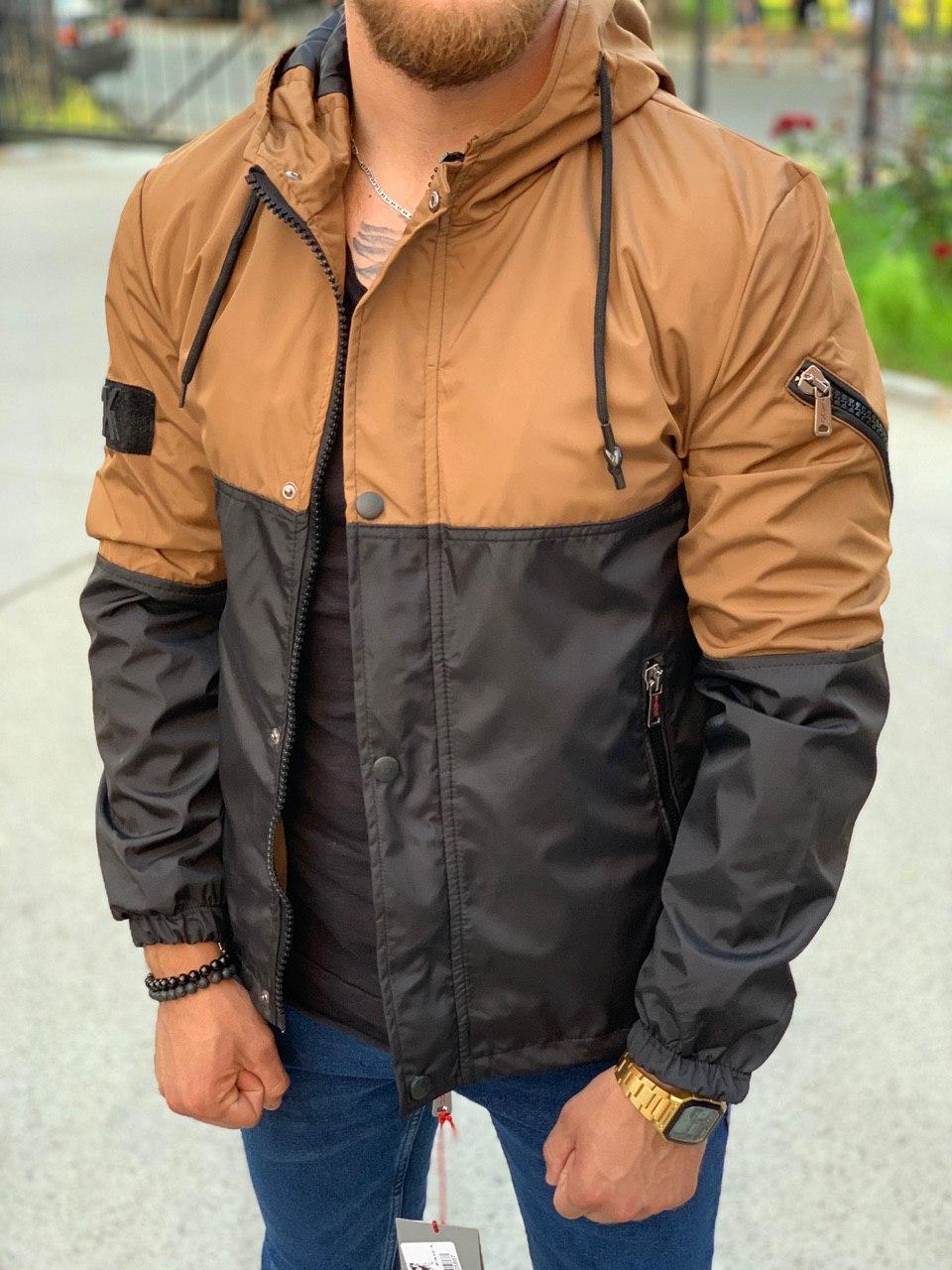 Мужская куртка Black 34-556