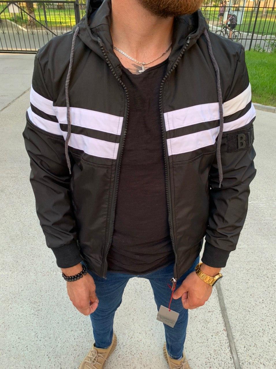 Чоловіча куртка Black 34-559