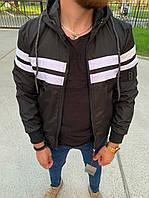 Чоловіча куртка Black 34-559, фото 1