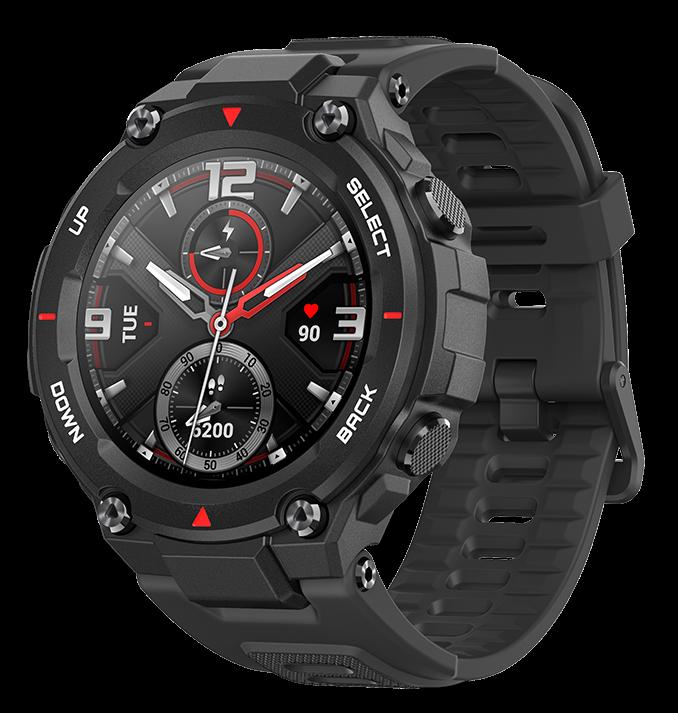 Смарт часы Amazfit T-Rex Rock Black A1919 Оригинал