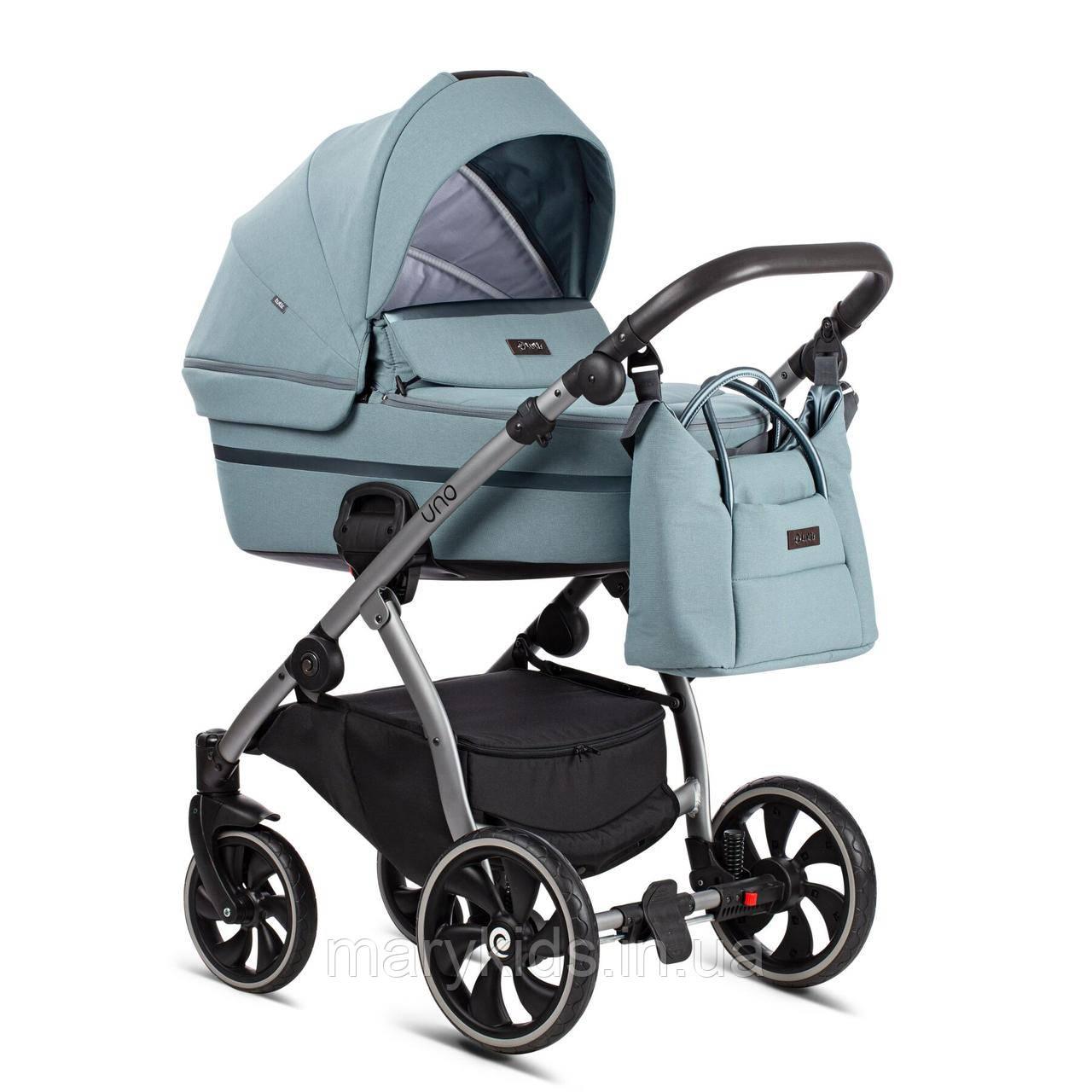 Детская универсальная коляска 2 в 1 Tutis Uno Plus Menta/143