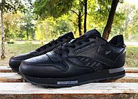 Кроссовки Reebok classic black, фото 1