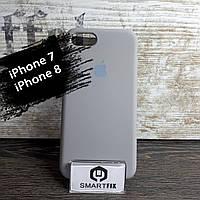Силиконовый чехол для iPhone 7 / iPhone 8 Soft Серый, фото 1