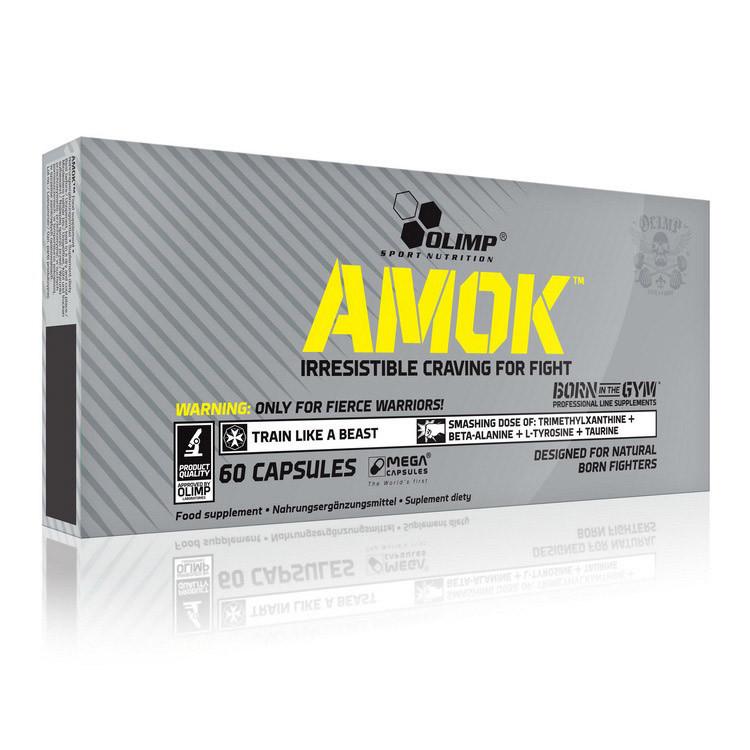 Енергетик Olimp Amok (60 caps)