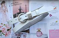 Женский ремень Calvin Klein 21 белый, фото 1