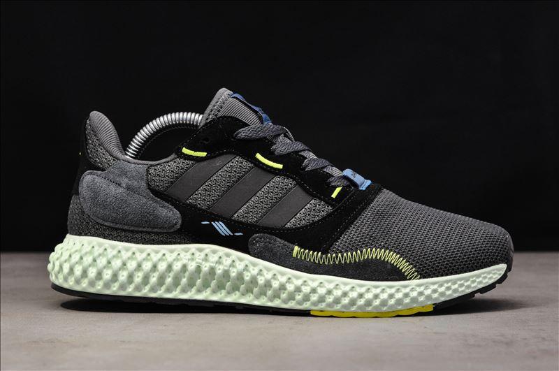 Кроссовки мужские Adidas ZX4000 Gray Black.Стильные кроссовки Адидас.