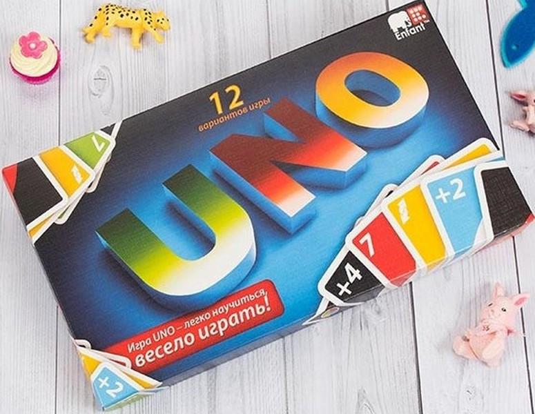 """Гра настільна """" Уно"""", Настольная игра """"Uno"""""""