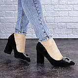 Женские туфли на каблуке черные Angie 1921 Размер 37 - 24 см, фото 6