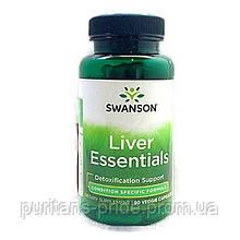 Підтримка печінки, Swanson liver essentials 90 capsules