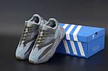 🔥 Кроссовки женские Adidas Yeezy 700 Dark Grey (адидас изи 700 серые), фото 2