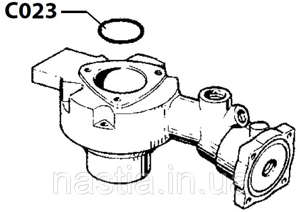 C023 Гумовий ущільнювач поршню(у пост, механічний), M20 Cimbali
