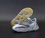 🔥 Кроссовки женские Adidas Yeezy 700 Dark Grey (адидас изи 700 серые), фото 6