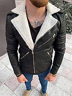 Мужская косуха черная 78-119, фото 1