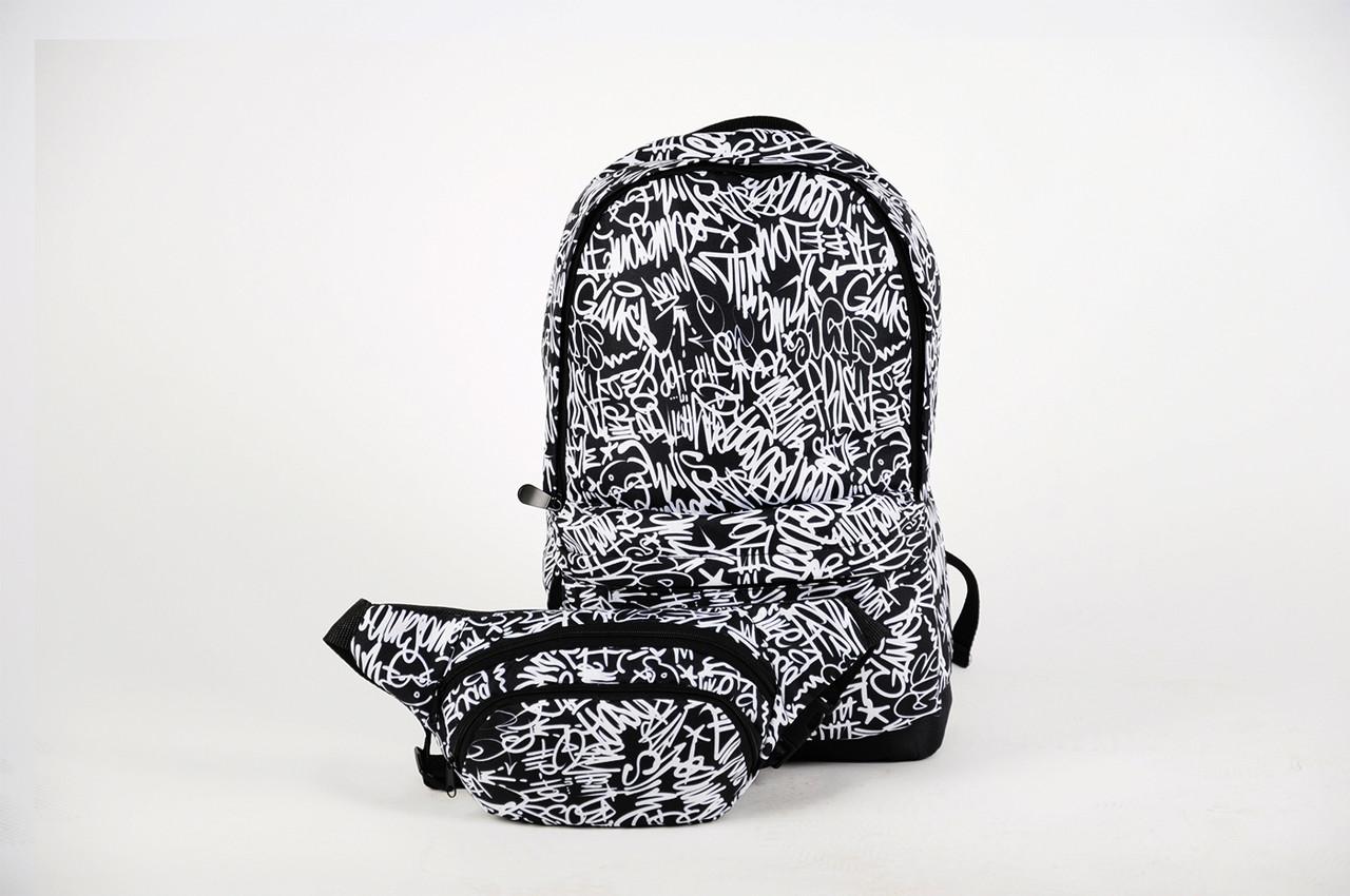 Рюкзак городской, школьный + бананка