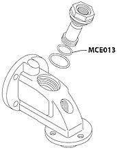 MCE013 Гумовий ущільнювач(у пост), OR 0170-30, NBR, MCE