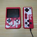 Игровая приставка (Игровая консоль) Game Box sup 400 игр в 1 + джойстик Red, фото 2