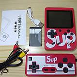 Игровая приставка (Игровая консоль) Game Box sup 400 игр в 1 + джойстик Red, фото 3