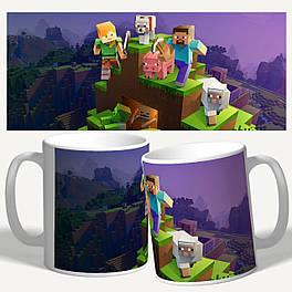 "Чашка/Горнятко з принтом ""Minecraft"""