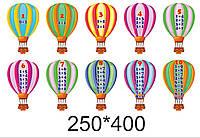 """Стенд для нуш """"Склад числа"""" на повітряних кульках"""