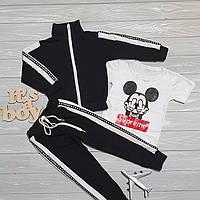 Детский костюм Микки Supreme, капюшон с ушками