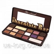 Тіні Too Faced Chocolate Bar 100% cocoa (УЦІНКА)