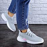 Женские кроссовки Fashion Ripple 1730 38 размер 24,5 см Серый Размер 38 - 24,5 см, фото 3