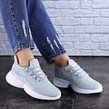 Женские кроссовки Fashion Ripple 1730 40 размер 25,5 см Серый Размер 40 - 25,5 см, фото 6