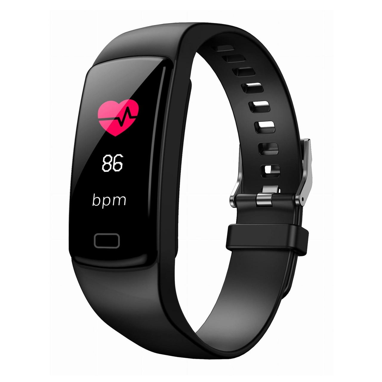 Фитнес браслет Lemfo fit Y9 с измерением кровяного давления (Черный)