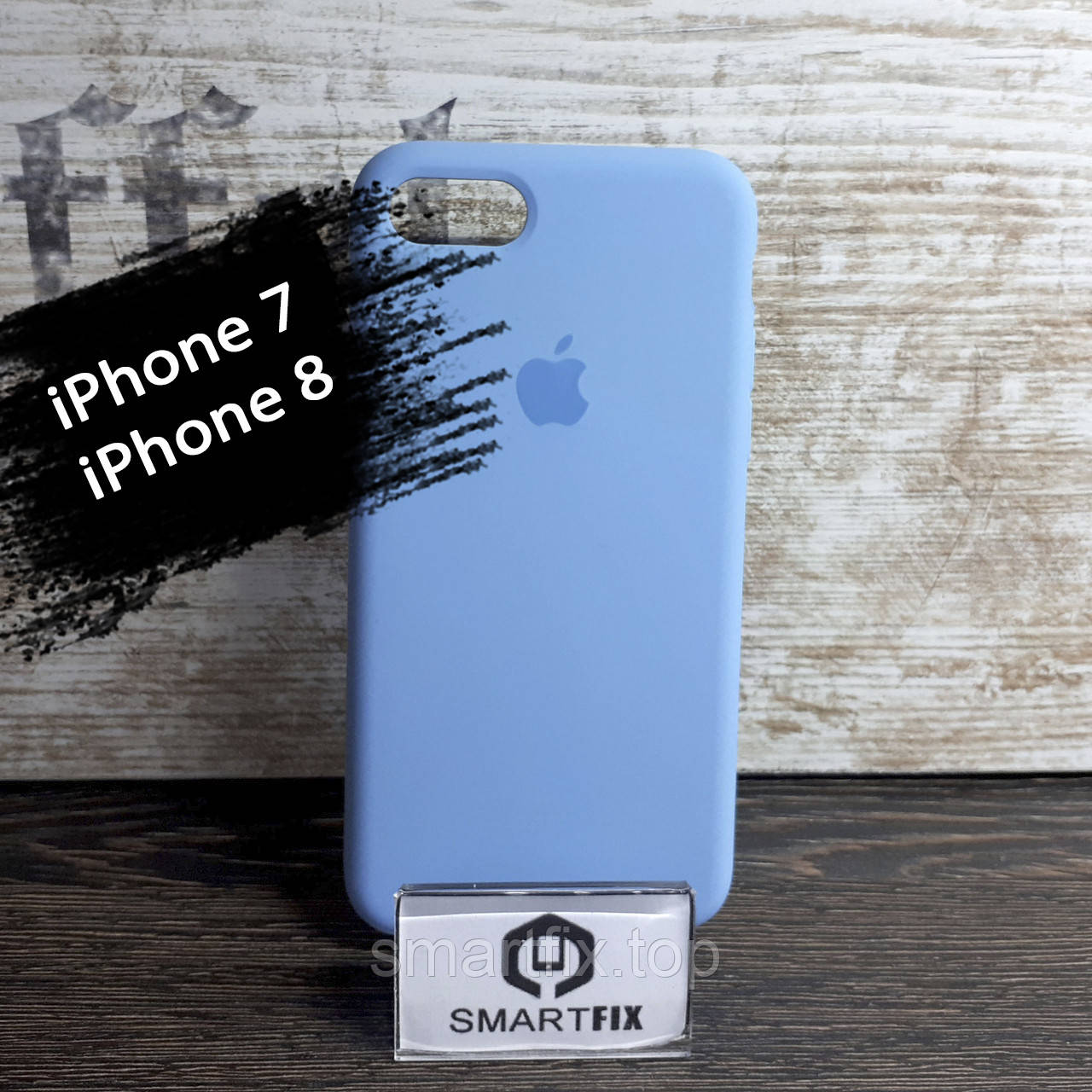 Силиконовый чехол для iPhone 7 / iPhone 8 Soft Голубой