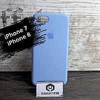Силиконовый чехол для iPhone 7 / iPhone 8 Soft Голубой, фото 1