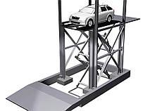 Автомобильный лифт для многоуровневых паркингов 5,2х2,4м. Г/п 2,5т.
