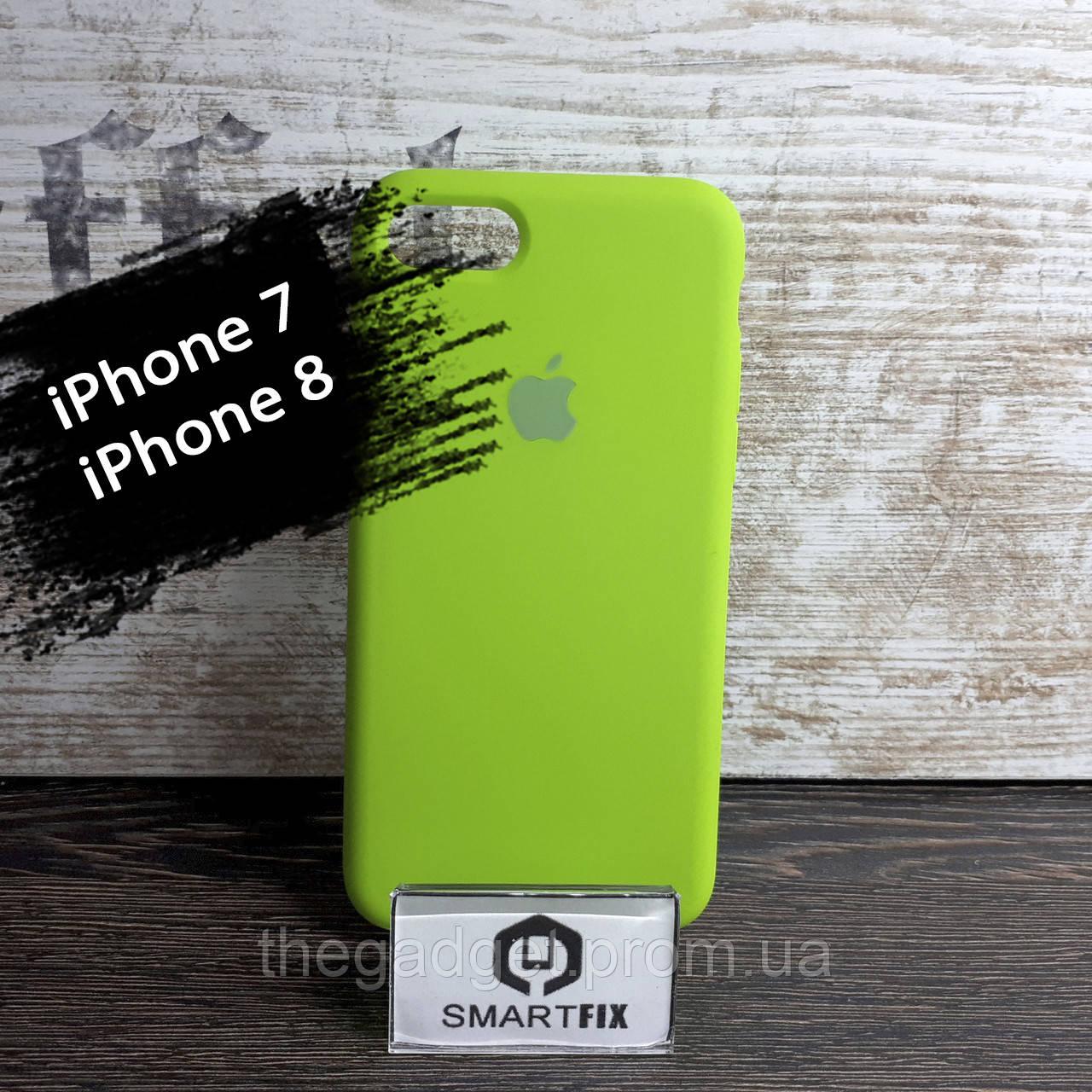 Силиконовый чехол для iPhone 7 / iPhone 8 Soft Зеленый