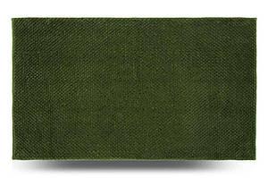 Коврик для ванной комнаты Ананас, зеленый, 70x120 см